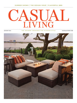 Casual Living Magazine : Artistry of Space by Florida Pool Builder Ryan Hughes ...